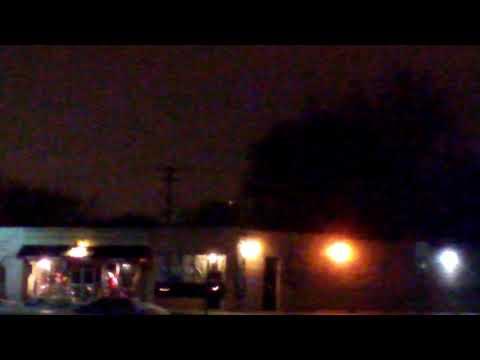 Red flashing UFO