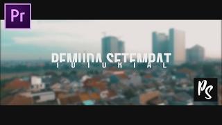 Quick Tutorial | Premiere Pro - Cara Membuat Outro Seperti Agung Hapsah (Bahasa Indonesia)