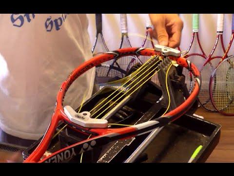How to String a Tennis Racquet - Yonex VCORE Tour
