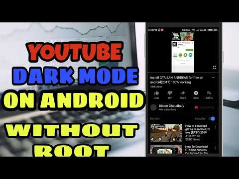 YouTube Dark Mode For Android without Root (2018)