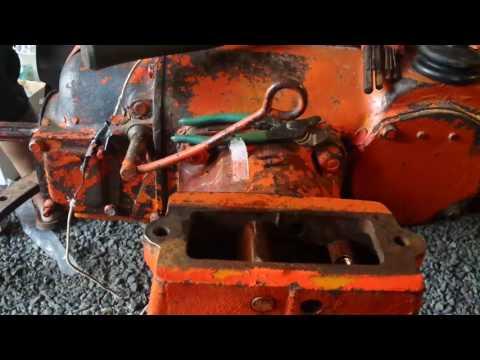1947 Allis Chalmers C tractor brake job