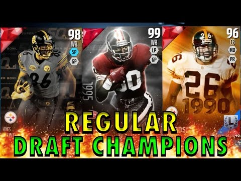 99 OVERALL BOSS JERRY RICE AND SICKEST TDs - Madden 16 Draft Champions