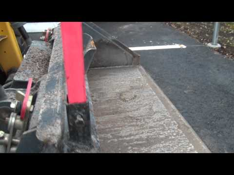 Laser mount to gehl bucket