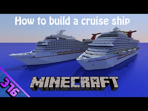 How to build a cruise ship in Minecraft! Part- 30! [Finale! Spa, Pools, Buffet]