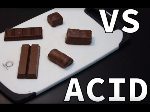 Candy vs Acid | Candy vs HCL