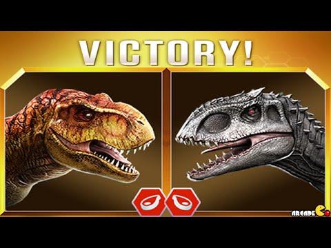 Live Random Challenge With Hybrid Dinosaurs - Jurassic World The Game!