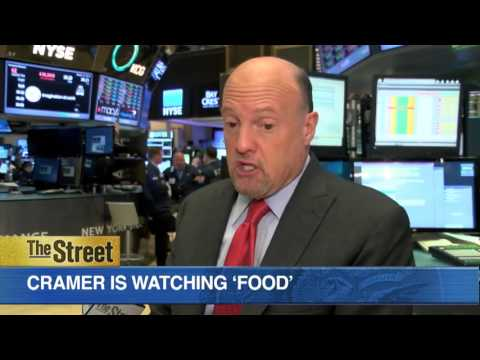 Jim Cramer Says Food Stocks Like Pepsico, Kellogg to Go Higher