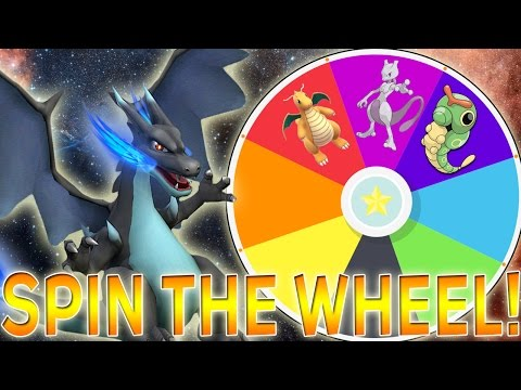 SPIN THE WHEEL OF THE FIRST 151 POKEMON!! TEAM BATTLE CHALLENGE!!