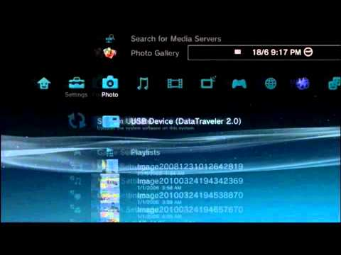 How to Download and Transfer PS3 Themes from computer to PS3 (EASY)