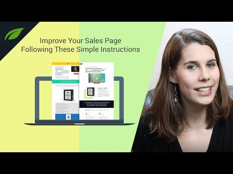 Improve Your Sales Page Following These Simple Instructions