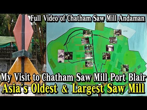 Chatham Saw Mill Port Blair   What to see inside Chatham Saw Mill Andaman   Chatham Island, Andaman