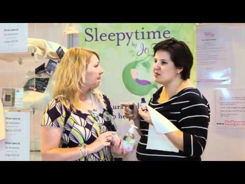 The Baby Show, May 2011, Birmingham NEC  with Jo Tantum