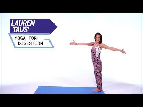 Lauren Taus' Yoga For Digestion | Health