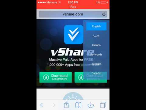 How to download Vshare on iOS 8 without jailbreak