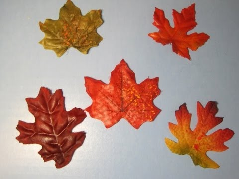 Fall leaves window clings ~ Featuring Miriam Joy