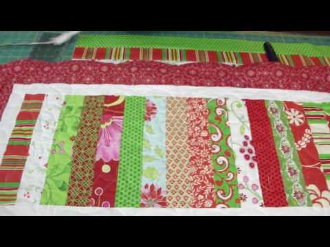 Two Table Topper projects from the Snow Flower Design Roll Part 1/2