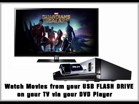 Watch Movies on your USB flash drive on TV via DVD Player