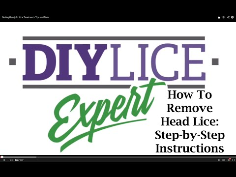 How to get rid of head lice and nits at home- DIY Lice Expert -