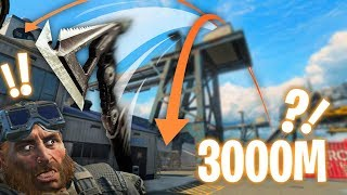 Insane 3000M Cross-map Tomahawk... Blackout BEST MOMENTS and FUNNY FAILS #53