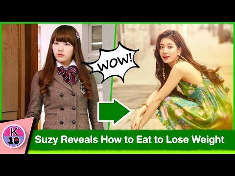😲 Suzy Reveals How to Eat to Lose Weight Fast and maintains it [수지]