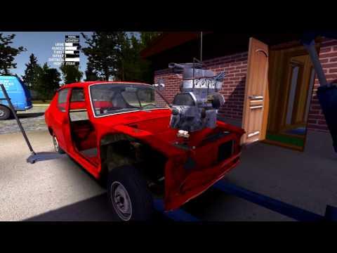 My Summer Car - Engine In Car!