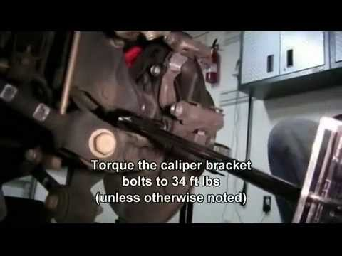 How to Replace the Rear Brake Pads and Rotors in a 2007 Toyota Camry