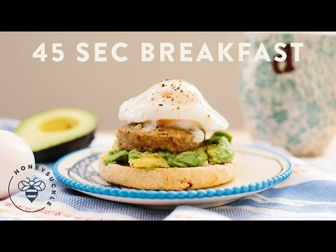 45 Second Breakfast Sandwich - Honeysuckle
