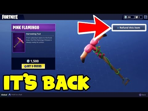 *NEW* How to REFUND SKINS In Fortnite Battle Royale RIGHT NOW!! (REFUND IS BACK)