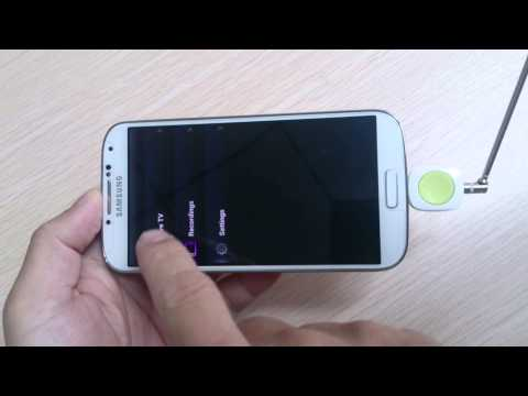 Support Android DVB-T TV TUNER works on your phone