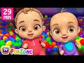 Download Johny Johny Yes Papa Ball Pit Show - ChuChu TV 3D Baby Songs & Nursery Rhymes for Kids MP3,3GP,MP4