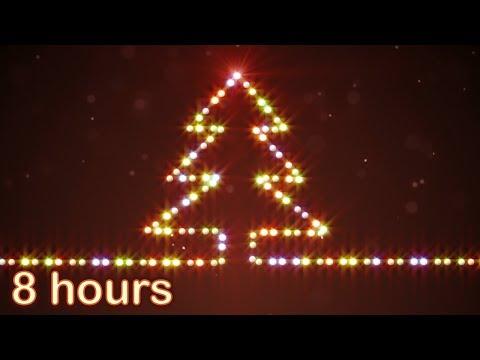 ✰ 8 HOURS ✰ CHRISTMAS MUSIC ♫ Christmas Music Instrumental ✰ Christmas Songs Medley ✰ Snow Falling