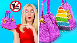 GENIUS WAYS TO SNEAK MAKEUP!  || Funny Sneaky Makeup Tricks and Hacks By 123 GO! LIVE