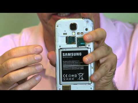 Adding Storage to your Galaxy S4- do this when the phone is new!