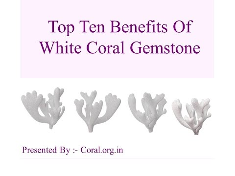 Top Ten Benefits Of White Coral or Moonga Stone