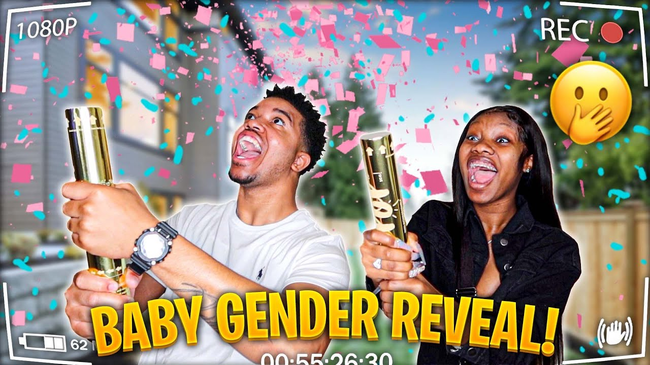 TATIANNA AND TYJAE OFFICIAL BABY GENDER REVEAL!!!