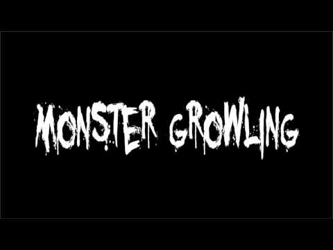 Horror Sound Effect - Monster Growling