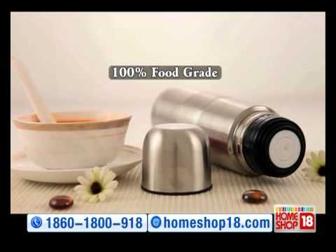 HomeShop18 : Hot & Cold 2 pc Vacuum Flask