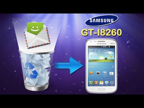How to Recover Deleted SMS Text Messages on Samsung Galaxy Core (GT I8260)?