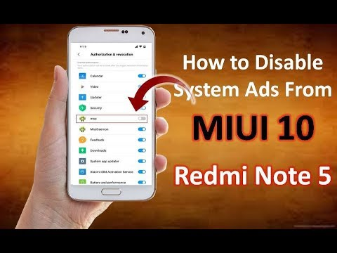 How to Disable MIUI System Ads in Any Xiaomi Phone | Remove MIUI 10 System Ads