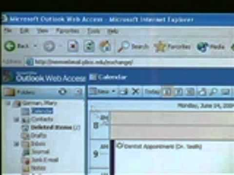 Outlook Web Access Training