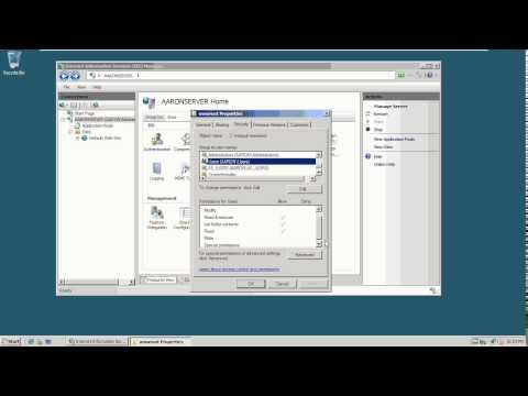 9-3 Configuring a Web Site