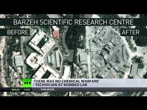 'There was no chemical warfare' - technician at bombed lab