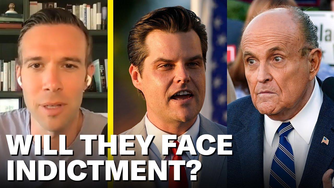 Rudy Giuliani and Matt Gaetz Appear To Be Criminals | Pod Save America