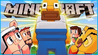 So we made a giant Homer Simpson statue in Minecraft... ep 6