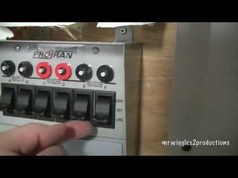 Generator Transfer Switch PART 1