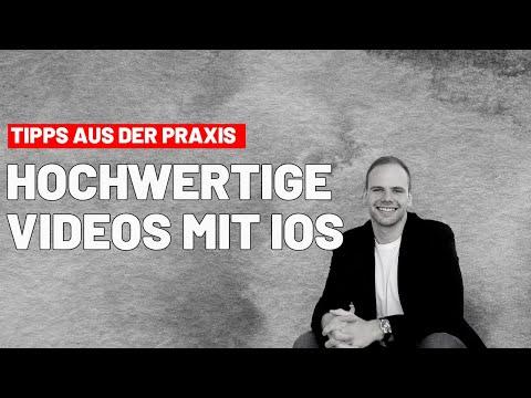 Praxistipp: Mit dem iPhone hochwertige Videos aufnehmen l Hyperlapse 1080p Einstellungen