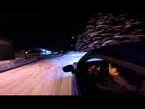 How to drive rear-wheel drive in snow