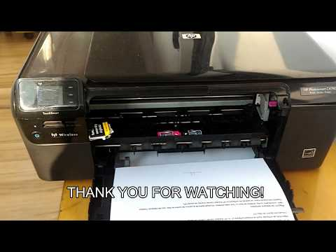 HP PHOTOSMART C4780   Paper stuck problem