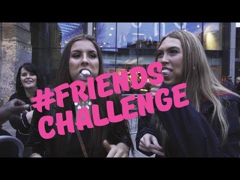 Anne-Marie - The #FRIENDSCHALLENGE With Beanie
