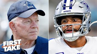 Should the Cowboys hold off on signing Dak Prescott to a long-term deal?   First Take